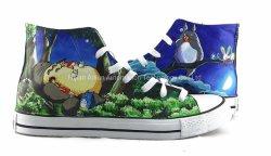 Mon voisin Totoro chaussures, de hauts sommets Anime /chaussures de toile peinte, chaussures occasionnel/sneakers