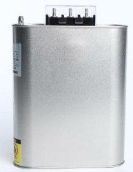 La resina epoxy 400V 7.5kvar trifásicos de potencia de polipropileno de condensadores electrolíticos de aluminio