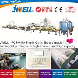 Jwell - PC|높은 능률 적이고 및 고용량으로 특별한 인쇄를 위한 기계장치를 만드는 농업 밀어남을 재생하는 PMMA 플라스틱 눈 장