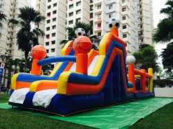 Giocattolo rimbalzante di salto gonfiabile del castello per esterno