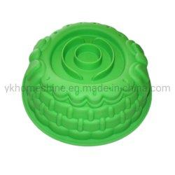 Высшее качество раунда крупных силиконового герметика один цветок форму для выпекания пресс-формы для поддона картера торт День Рождения