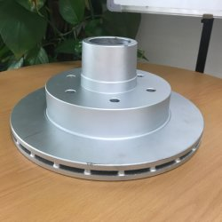 10дюйма 12дюйма диск тормоза прицепа / ротора с Dacromet тормозного диска
