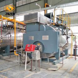 Haute efficacité de l'huile diesel automatique automate chaudière à vapeur industrielles de gaz