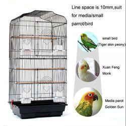 Пэт-Bird клетку заводская цена маленького металлического попугай проволочной сетке с высоты птичьего полета контейнер для любви с высоты птичьего полета