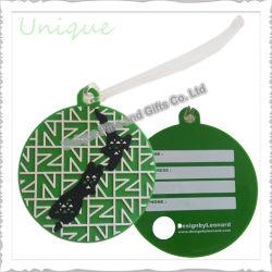 Commerce de gros sac personnalisé accessoires PVC Souple/ caoutchouc/plastique Balise du nom de voyage Airline Luggage Tag pour sac Décoration de bagages