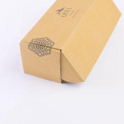 Boîte d'emballage en carton ondulé marron pour l'expédition