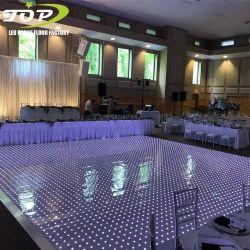 LEIDEN van Dance Floor van de Disco van het Pixel van het Decor van de Gebeurtenis van de Partij van het huwelijk Interactieve RGB 3in1 VideoDance Floor