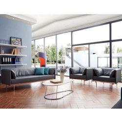 가죽 - Sectional Lounge, 소파, 그레이 소파, 긴 가죽 라운지 스위트