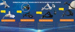 3W медицинских фары с светодиодный источник света Ks-H1n головные уборы для хирургических