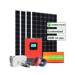 経済的なPV 2kw 3kw 5kw Solar Energyシステム価格