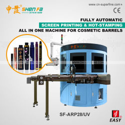 Автоматическая печать цветной экран с машины для косметических баррелей