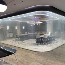 ISO-Bescheinigung-Intelligenz-elektronisches Energien-Steuerdekoratives intelligentes Architekturglas atomisiert, Glas verdunkelnd