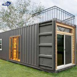 De geprefabriceerde Modulaire Mobiele Prefab Houten het Leven Draagbare Container van het Bureau van de Luxe van het Staal Shiping Mobiele Uiterst kleine Beweegbare