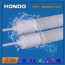 IP67 방수 2ft/3ft/4ft/5ft 9W/14W/18W/22W T8 LED 형광등 실외용
