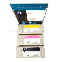 Original Novo cartucho de tinta para impressora HP Designjet Z6100 (91 C9464A C9469A C9471 C9518)
