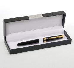 As mercadorias no local de venda a quente em alumínio preto Dom Caixa de caneta e personalizado a publicidade comercial plástico Caixa de caneta