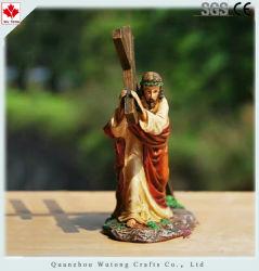 Custom Hotsell полимера религиозных креста фигурка украшения