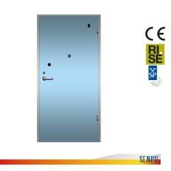 ヨーロッパ規格の機密保護E60スウェーデンの耐火性のドアの単一の開いたセリウム標準工学習慣