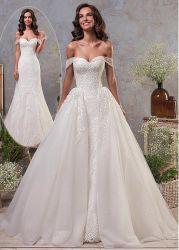 De nouvelles robes de mariage de la Dentelle deux dans un ballon robes de mariée Mermaid Z1034