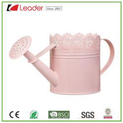 Многофункциональная эксклюзивные металлические розового цвета Лейку для дома и сада орнаментом