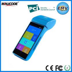Terminale POS portatile, terminali POS intelligenti, certificato EMV/PCI, terminale POS portatile touch screen di qualità migliore, GPRS, Wi-Fi, Bluetooth per il pagamento, MJ P2000