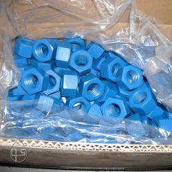 Hexagon Xylan-überzogenes Schrauben ANSI-B18.2.1 PTFE A194 2h. Stift-Schrauben-Befestigungsteile der Mutteren-A193 B7