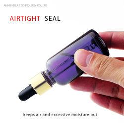 FDAによって証明される熱い販売の優れたガラス精油はびん詰めにする