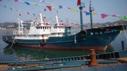 Les Chinois 31,8 m/104FT professionnel d'acier chalutier de pêche des thons de Navire à vendre