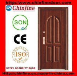 Prova de roubo de segurança Portas de aço da porta de segurança ventilada para venda (CF-519)