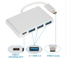 USB 3.1 tipo C y 3*con USB 3.0 Tipo de adaptador de cable hembra C Hub