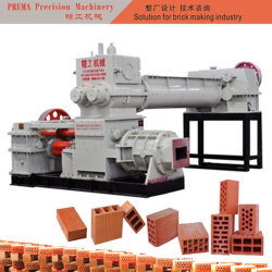 ブロックの機械装置の中国の自動機械によって焼かれる粘土の煉瓦作成機械