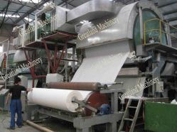 1-30tpd kies Machine van het Toiletpapier van de Machine van het Weefsel van de Cilinder de Toenemende Vroegere voor Papierfabriek uit