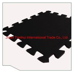 China Professional Ginásio Mat-Gym Floor-Rubber Tapetes de quebra-cabeças/Intertravamento tapetes de borracha