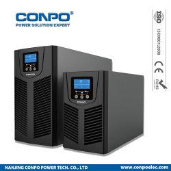 Aufsatz-Onlinehochfrequenz-UPS der Pvt Serien-1kVA/2kVA/3kVA (mit/ohne Batterie)