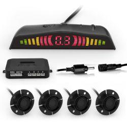 간단한 디지털 발광 다이오드 표시 리버스 원조 자동 무선 초음파 주차 센서 시스템