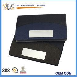عروض البيع الساخن بطاقات العمل لحامل البطاقات من الجلد المعدني