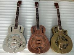 Precio mayorista Aiersi resonador guitarra de cuerpo metálico de la marca para la venta