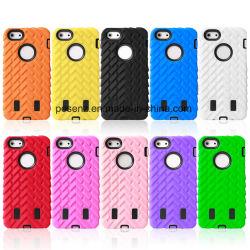 iPhone 5g、Phone Accessoriesのための2016タイヤGrain Robot Phone Cases