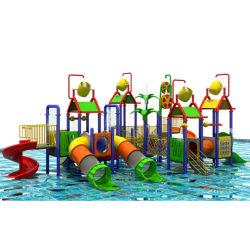 Escorrega de água Piscina Jogo fábrica na China, fibra de brinquedos para crianças