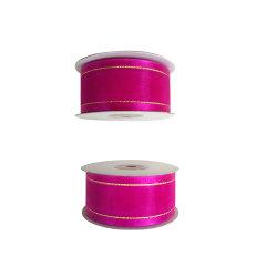 100% Nylon 38mm Flor de Fita Organza de Cintagem