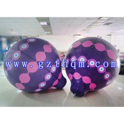 Pubblicità dell'aerostato del cubo/aerostato di galleggiamento gonfiabili cielo dell'elio