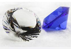 K9 Paperweight a cristallo, diamante di vetro, diamante di cristallo