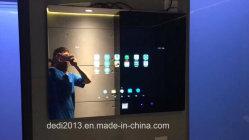 43 de Muur van de duim zette Interactieve Digitale Signage van de Badkamers op Kleedt Magische LCD van de Spiegel Vertoning