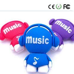 音楽人美しくかわいいUSBのフラッシュ駆動機構(YYRGJ)