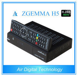 Récepteur TV H. 265 Combo Box Zgemma H5 DVB S2 DVB T2 DVB C
