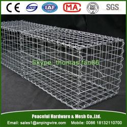 Treillis métallique soudé galvanisé Gabion / Panier de gabions / boîte de gabions