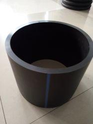 El mejor precio vaciar las aguas residuales Bend flexible negro colocación del tubo de plástico HDPE PE