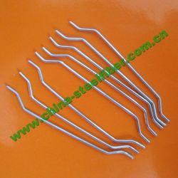 Buena dureza extremo con gancho de hormigón reforzado con fibra de acero