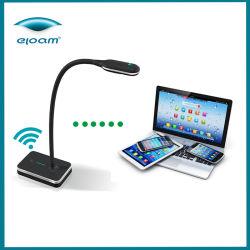 Digital de clase el registro de vídeo conferencia con micrófono Visual Presenter