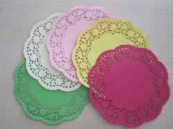 Multi-Color Doilies Doyles de papel y papel para la decoración de alimentos
